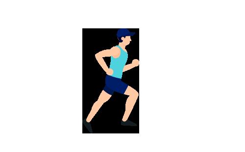 Gli sportivi attirano più zanzare